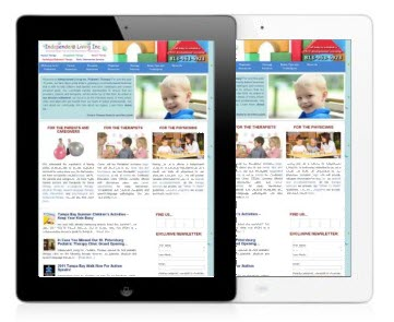 iPad Coming to Our Clinics for Children with Special Needs!