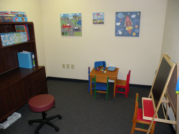 St. Petersburg Pediatric Therapy Clinic Occupational Therapy Room