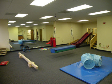 St. Petersburg Pediatric Therapy Clinic Physical Therapy Gym
