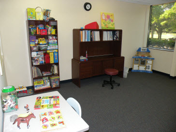 St. Petersburg Pediatric Therapy Clinic Speech-Language Therapy Room