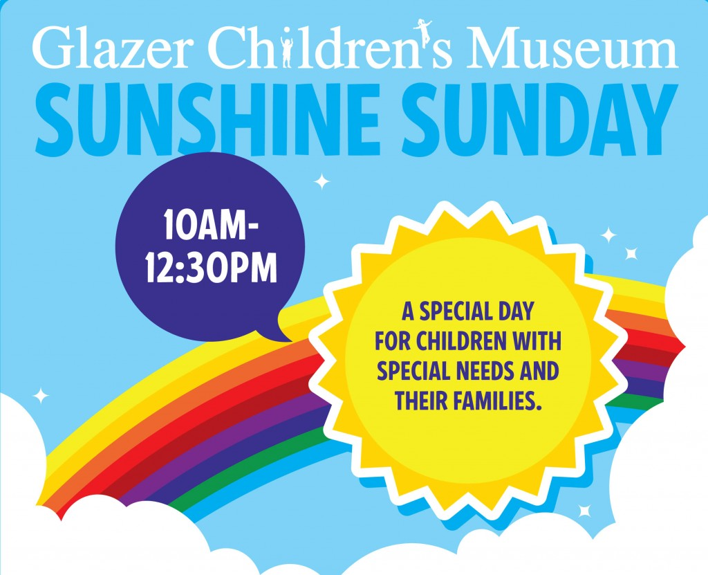 glazer children's museum sunshine sunday event