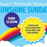 glazer children&#039;s museum sunshine sunday event